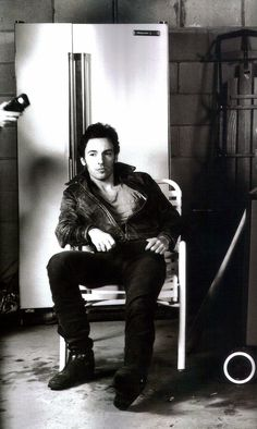 Bruce Springsteen photographed by Annie Leibovitz.