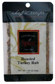 Roasted Turkey Rub: You'll be sure to impress at this years Thanksgiving Feast
