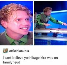 Not fair. Fate sides with yoshikage kira. Definitely cheating.