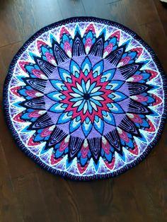 Вязание. Штучки от Леворучки.'s album Crochet Motif, Beach Mat, Outdoor Blanket