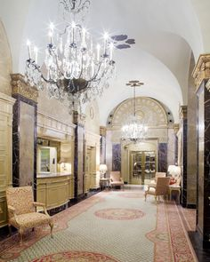 Apartment at the Sherry Netherland Hotel in NYC