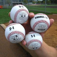 """Becoming a great pitcher is the ability to recognize the relationship between """"the count"""" and ball location, then mastering the execution of that pitch. Softball Pitching Machine, Baseball Pitching, Baseball Training, Batting Tee, Balls, Count, Pitch Perfect, Backyard, Patio"""