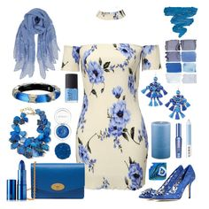 """""""My Baby Lives In Shades Of Blue"""" by yournightnurse ❤ liked on Polyvore featuring Dolce&Gabbana, Mulberry, NEST Jewelry, Kate Spade, Alexis Bittar, Holly's House, Benefit, Humble Chic, Marc Jacobs and NARS Cosmetics"""