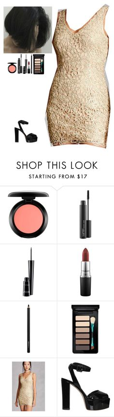 """""""Untitled #135"""" by erin-bittencout on Polyvore featuring moda, MAC Cosmetics, Forever 21 e Giuseppe Zanotti"""