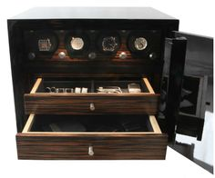Chronos Luxury Watch Safes on http://firmninedesign.com