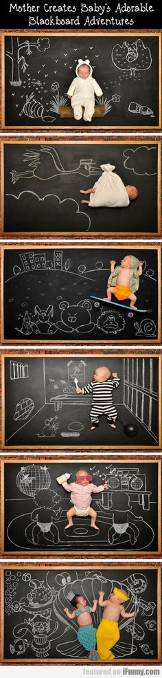 Funny pictures about Baby's Blackboard Adventures. Oh, and cool pics about Baby's Blackboard Adventures. Also, Baby's Blackboard Adventures photos. Baby Pictures, Baby Photos, Random Pictures, Cute Kids, Cute Babies, Photo Souvenir, Foto Baby, Everything Baby, Baby Art