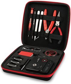 Coil Master DIYV3 Kit V3 Tool Set with Latest Coil Jig (V4)/521 Mini Tab V2 OHM Reader/Tweezers/Heat Resistant Wire Newest Tool Kit: Amazon.co.uk: Health & Personal Care Power Tool Kits, Folding Scissors, Uk Health, Phillips Screwdriver, Diy Tools, Tool Set, Wire, Personal Care, Amazon