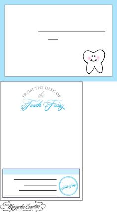 Letters to the Tooth Fairy
