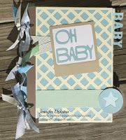 jd designs - CTMH Artbooking Cricut Collection Baby book / mini album **full page-by-page pics on blog**
