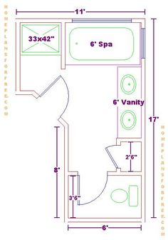 Bathroom and closet floor plans plans free 10x16 for L shaped master bathroom layout