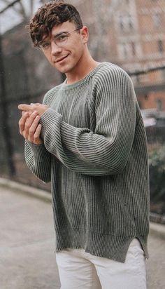 justin grey sweater