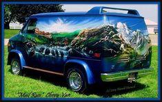 Customised Vans, Custom Vans, Station Wagon, Ford, Custom Van Interior, Chevrolet Van, Cj Jeep, Old School Vans, Vanz