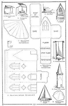 Peluche Possum Studio: Family Fun Progetto: Una Chiesa Modello in mancanza di carta