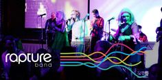 Rapture is a 4 - 10 piece band performing covers of dance, pop, rock & jazz music. Rapture perform at events for wedding & corporate celebrations in Melbourne. Dance Pop, Jazz Music, Melbourne, Celebrations, Bands, Neon Signs, Entertainment, Events, Rock