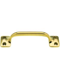 """3 1/2"""" On Center Solid Brass Handle With Choice of Finish 