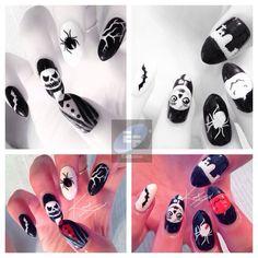 Happy halloween! Happy Halloween, My Style, Nails, Beauty, Finger Nails, Ongles, Beauty Illustration, Nail, Nail Manicure