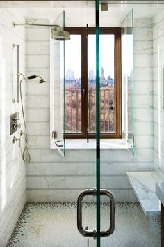 What A Cool Idea Have Your Window In The Shower And