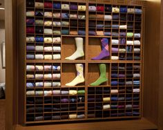 hanging sock display - Google Search