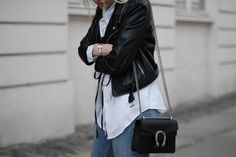 HOW TO STYLE THE CORSET How to style the corset Neon Rose Corset Acne Boots Gucci Dionysus Bag Minimal Street style Bykrog