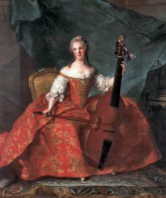 Madame Henriette, daughter of Louis XV