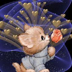 Diamond Embroidery rose picture DIY Diamond Painting Cross Stitch animal dog Patterns Rhinestone Mosaic Paintings daimond XY Source by Animals And Pets, Cute Animals, Beau Gif, Rose Pictures, Beautiful Gif, Glitter Graphics, Dog Pattern, Rose Embroidery, Cross Stitch Animals