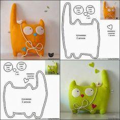 Handmade Club Cat