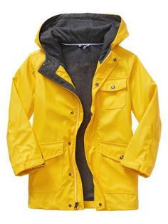 Stand out in this cozy yellow jacket from GapKids - love the classics