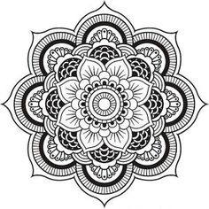 Relax While You Create With These Free Mandala Coloring Pages: Mandala Coloring Pages from Coloring Pages for Mom
