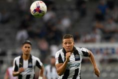Dwight Gayle struck in the sixth minute of added time to complete a hat-trick and fire Newcastle to a dramatic victory over Sky Bet Championship promotion rivals Norwich. On a remarkable night at St James' Park, the Magpies were trailing 3-2 with two minutes of stoppage time remaining when Yoan Gouffran headed them level and set the stage for Gayle to win it at the death in front of a raucous crowd of 48,236.