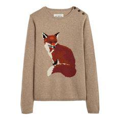 @Ashleigh Riley - Fox sweater