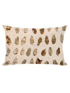 Gold Marismas Pillow from The Tranquil Bedroom on Gilt