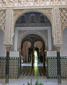 El Real Alcázar de Sevilla, Andalucía, Spain