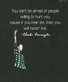 Chester Bennington...Is Linkin Park...& Always Will Be Please Rest in Peace