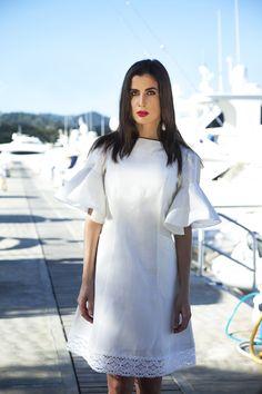 #LookDeLaSemana:  Para esta semana recomendamos este hermoso #look para que te sientas cómoda, fresca y femenina.  ¡Combina este vestido con diferentes #accesorios!  #GriseldaTovar #Moda #Mujeres