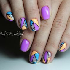 Photo Nail Art Designs, Hair Makeup, Beautiful, Beauty, Stripes, Nail Manicure, Fingernail Designs, Hearts, Party Hairstyles
