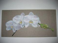 Peinture acrylique sur lin et toile -  par CV Création