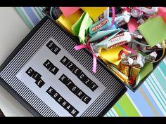 DIY super prezent dla każdego na urodziny/rocznicę ♥ - YouTube