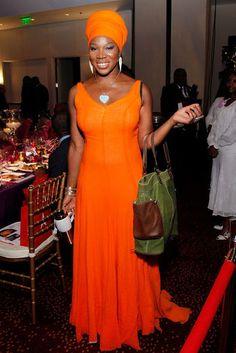 Orange you Pretty Singer India Arie.