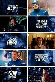 Captain America Quotes I love Captain America!!!!!!!!!!!!!!