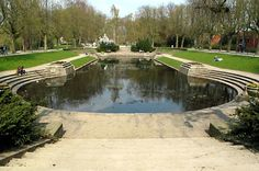 Noorderplantsoen, one of the beautiful parks in Groningen.