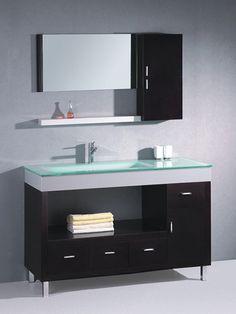 Modern Bathroom Vanity WT9116 by Legion Furniture