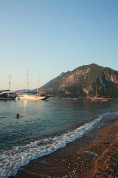 Olympos beach, Turkey / Пляж рядом с пос. Олимпос, Турция