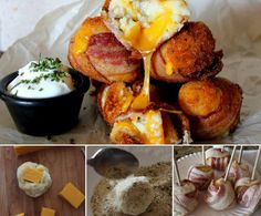 How to DIY Mash Potato Bacon Bombs | www.FabArtDIY.com LIKE Us on Facebook ==> https://www.facebook.com/FabArtDIY