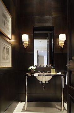 High gloss black.