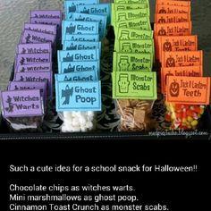 Halloween treat for school class.