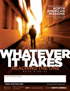 2013 North American Missions Emphasis/Annie Armstrong Easter Offering promotional materials.