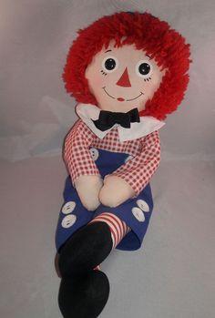 Hasbro Softies Raggedy Andy Doll | Dolls & Bears, Dolls, By Brand, Company, Character | eBay!