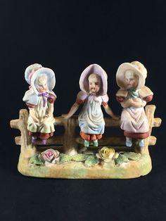 art doll ooak creepy cute baby antique porcelain cup sitter Puppen & Zubehör