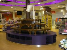 """Cadbury World. So fun and so yummy. They sell 5 lb. bags of """"misshapes"""" which are just yummy delicious mess-ups."""
