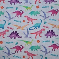 Fab... Fun ideas for your next Sewing Project Sewing Blogs, Sewing Crafts, Sewing Projects, Craft Projects, Flamingo Fabric, Dinosaur Fabric, Dinosaur Design, Custom Printed Fabric, Fabulous Fabrics